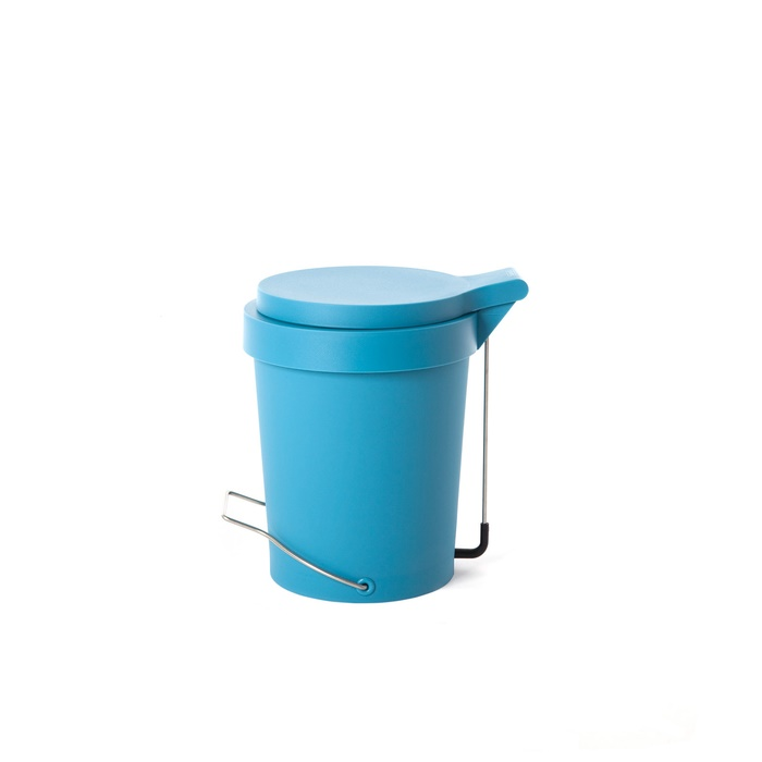 Trash can Tip 7 L. turquoise