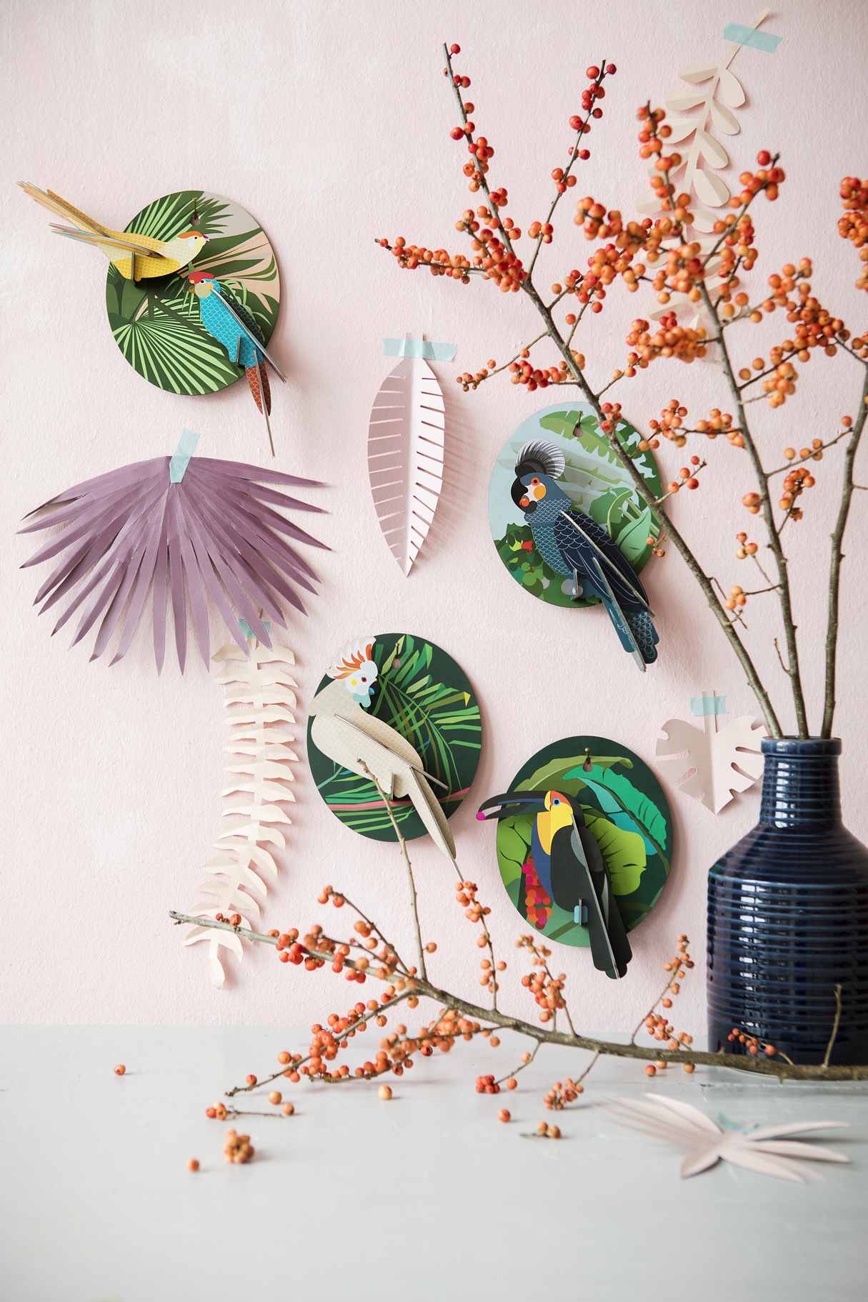 Wall decoration toucan
