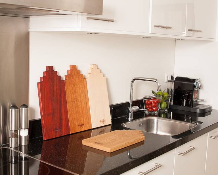 Serving board canal house large cherry