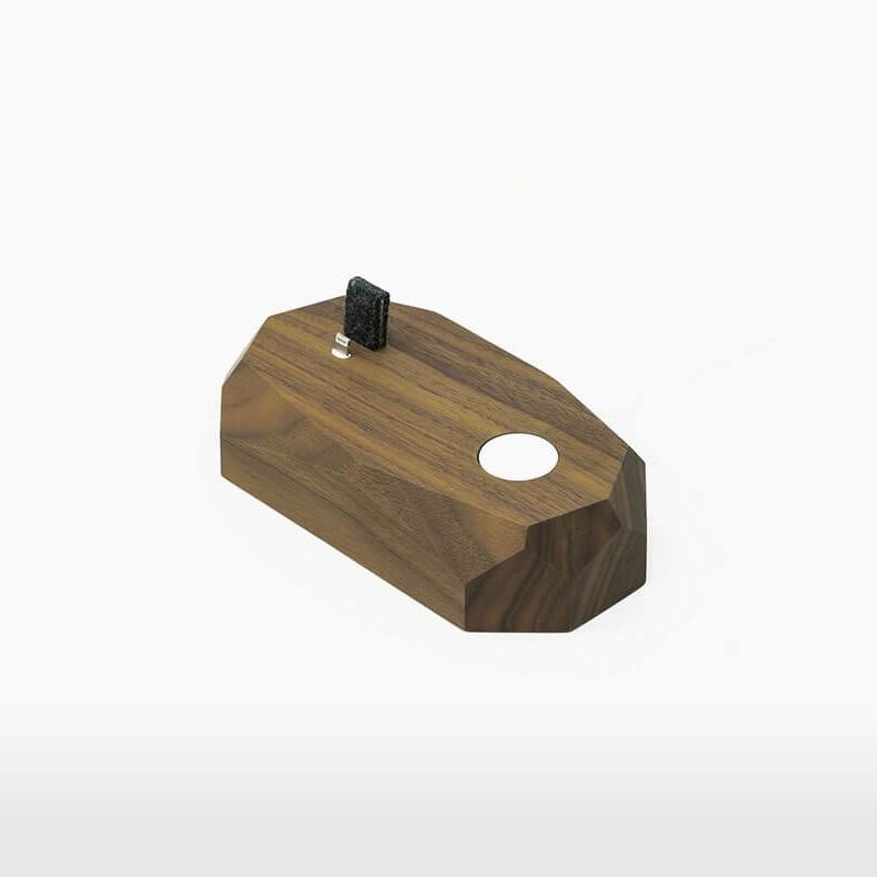 Combo dock walnut