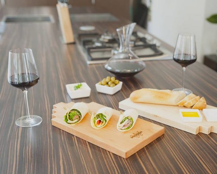 Serving board canal house small maple