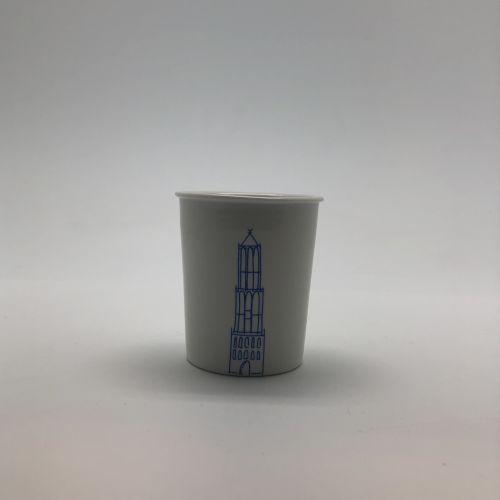 Koffie beker domtoren blauw