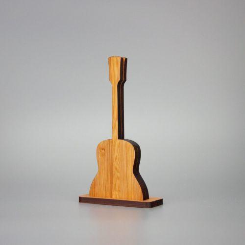 Berben Design kaart en foto houder gitaar