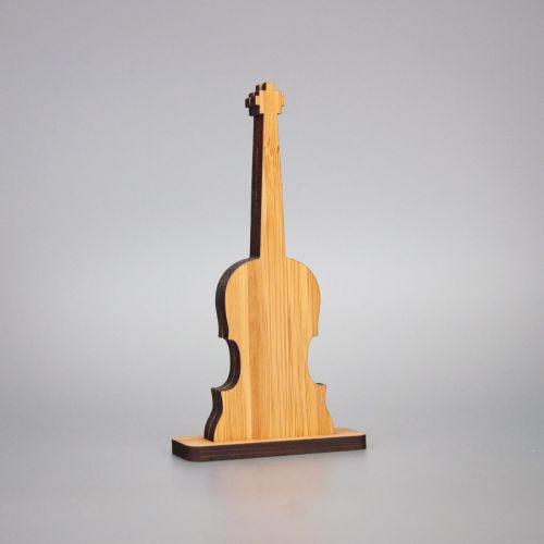 Berben Design kaart en foto houder viool
