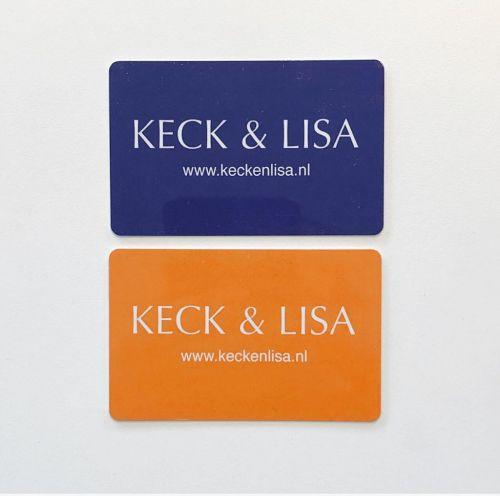 KECK&LISA cadeaukaart € 7,50