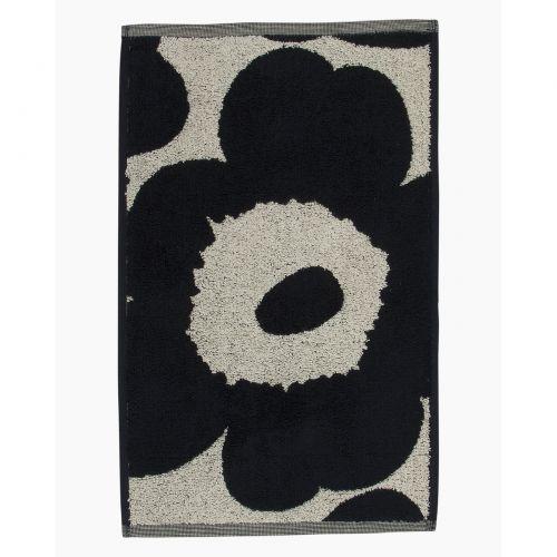 Marimekko Unikko Guest Towel 30x50 Dark Blue