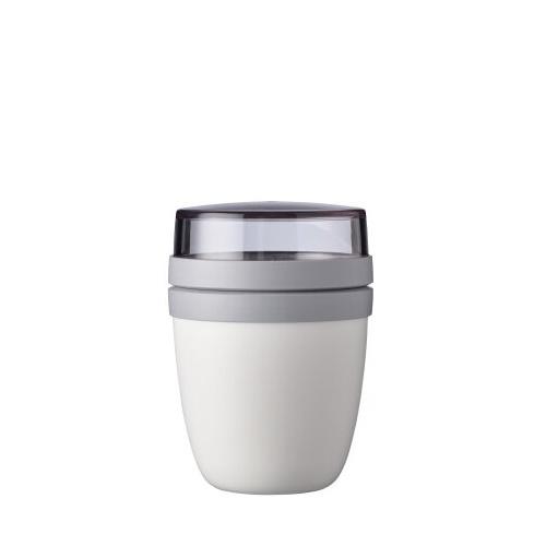 Lunchpot ellipse mini white