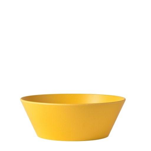 Serveerschaal bloom 1.5 L pebble yellow