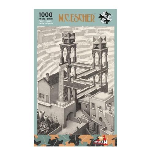 Puzzel - Waterval, M.C. Escher