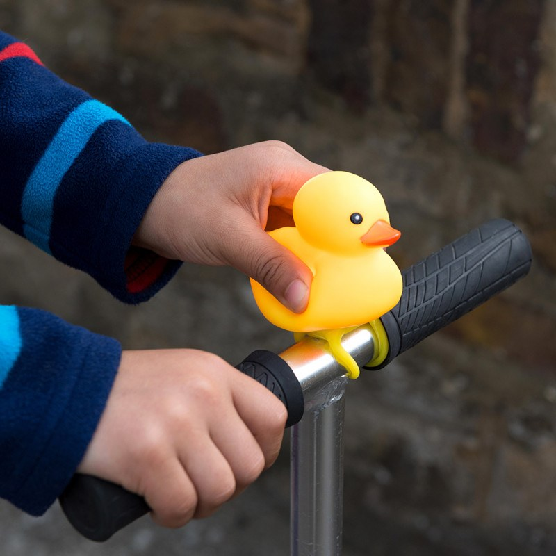 Flashing Duck Bicycle Squeaker