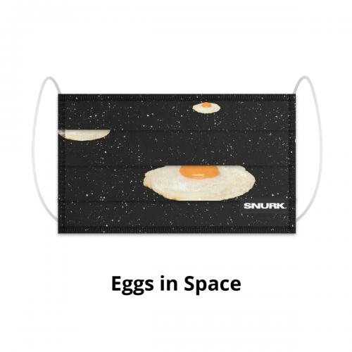 Mondkapje Eggs in Space