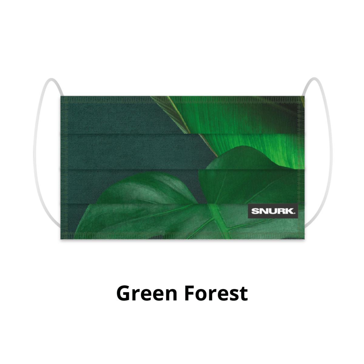 Mondkapje Green Forest