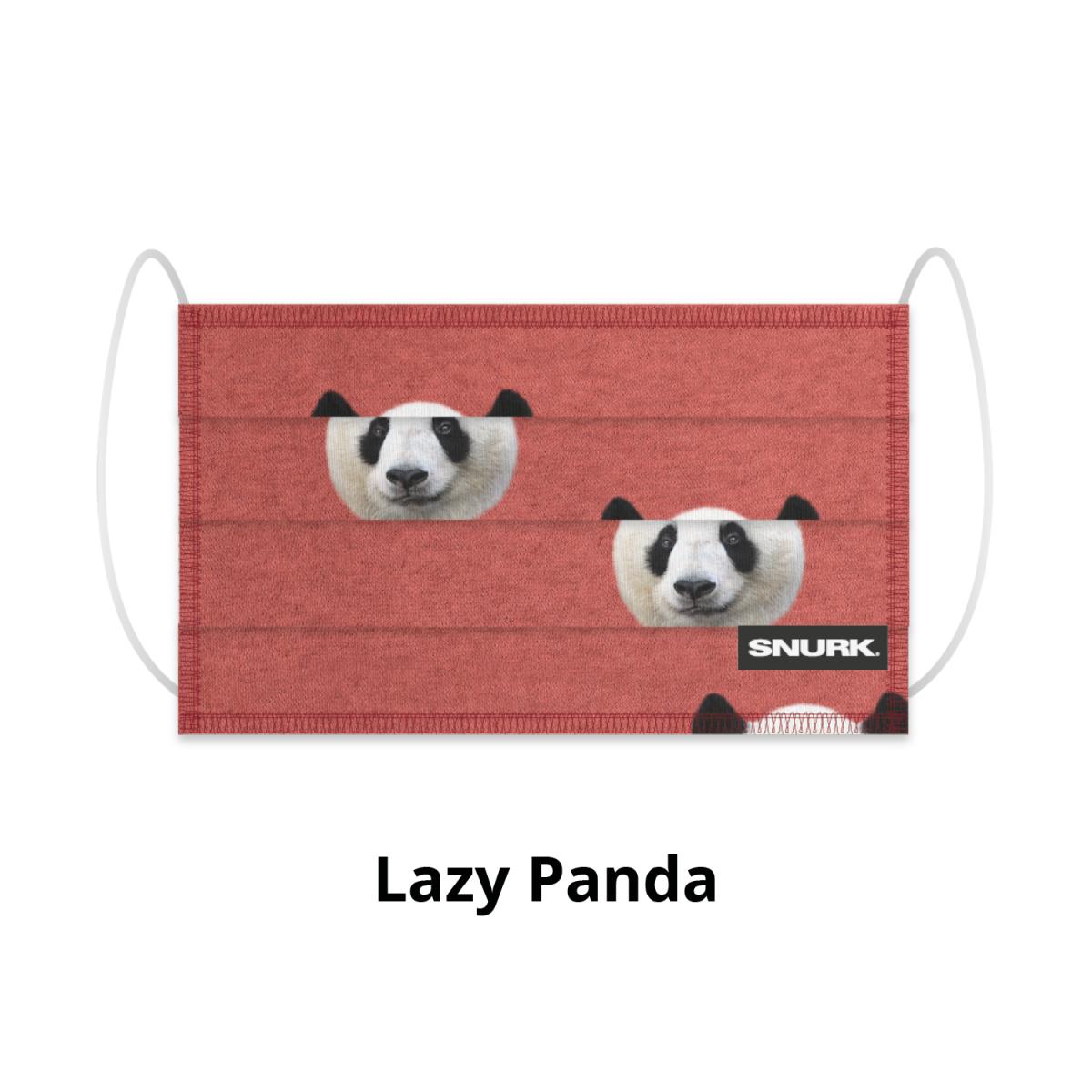 Mondkapje Lazy Panda