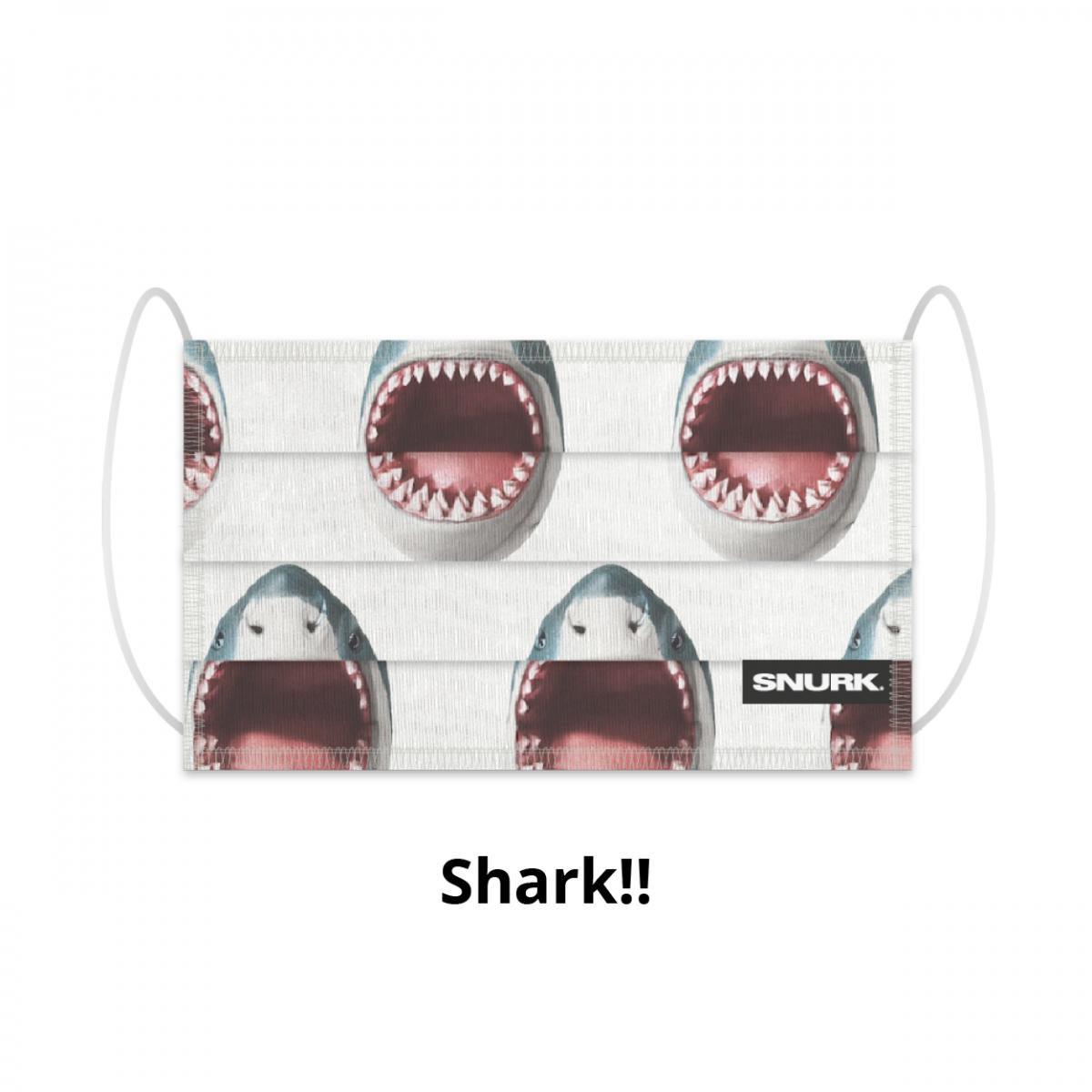 Mondkapje Shark!!