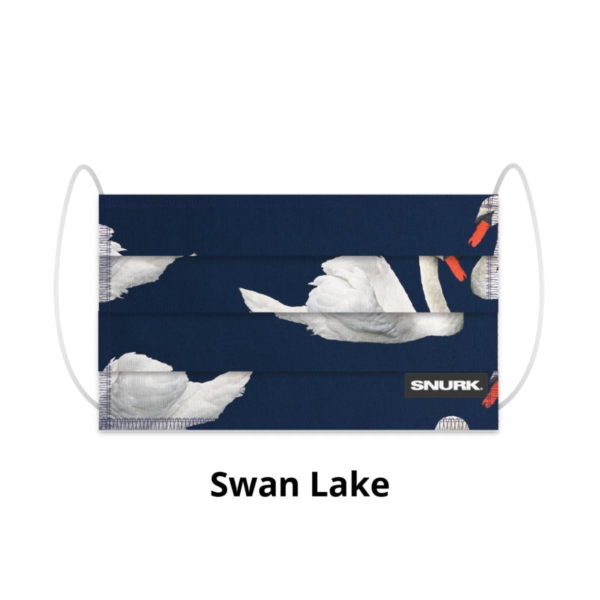Mondkapje Swan Lake