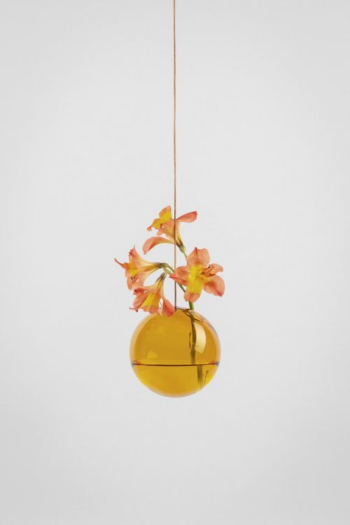 Studio About Bubble Hanging Vase M Amber