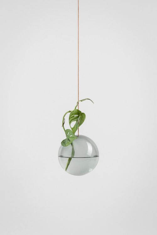 Studio About Bubble Hanging Vase M Smoke