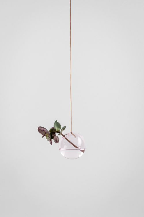 Studio About Bubble Hanging Vase S Rose