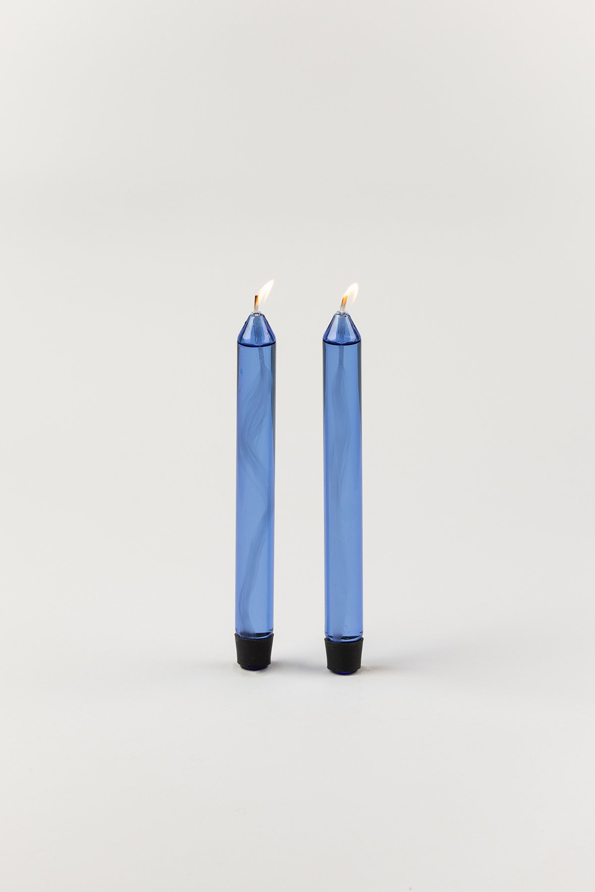 Studio About Glass Candle Oil Blue 2-pack