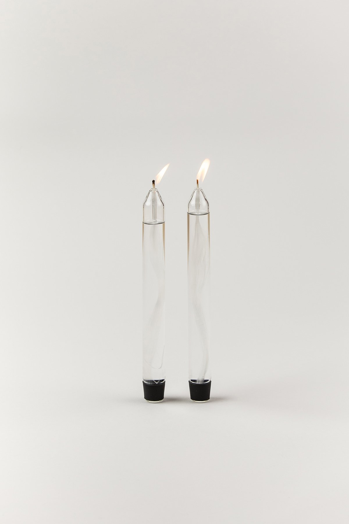 Studio About Glass Candle Oil Transparent 2-pack