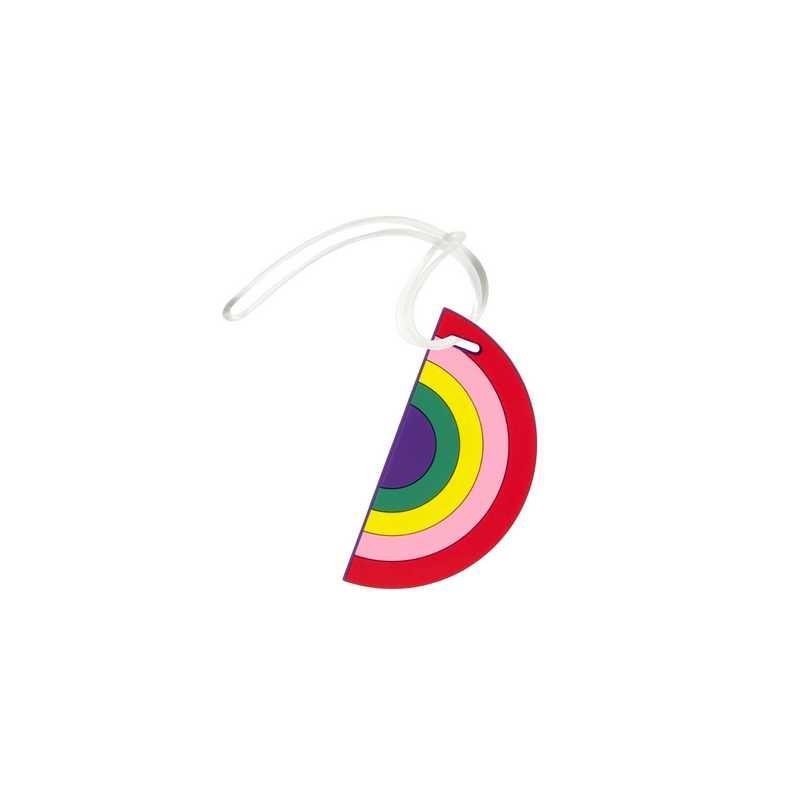 Bagagelabel regenboog
