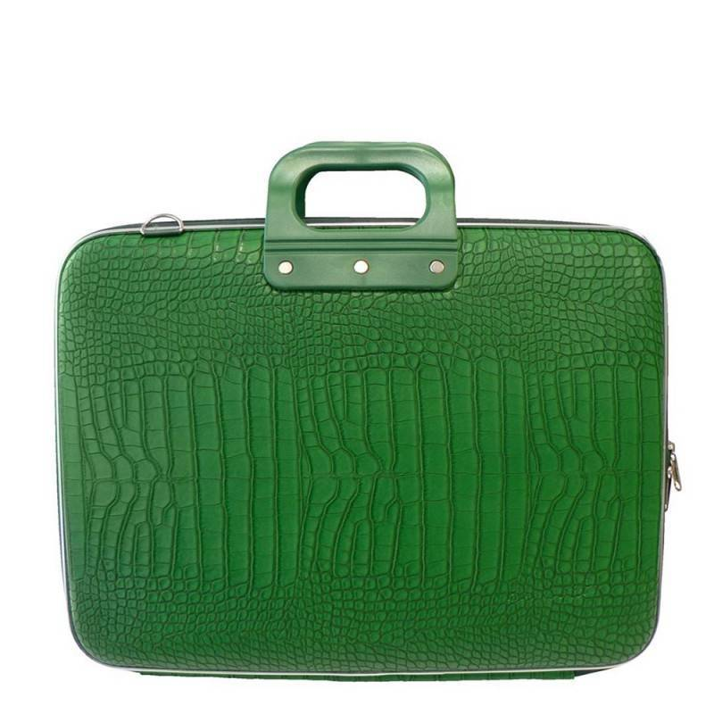 Laptop case 15,4 inch cocco green