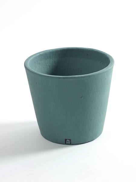 Pot container S Jungle green
