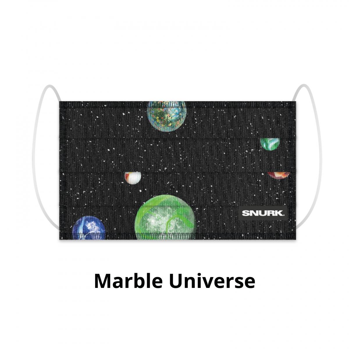 Mondkapje marble universe