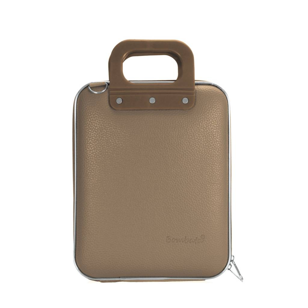 Tablet briefcase 11 inch taupe