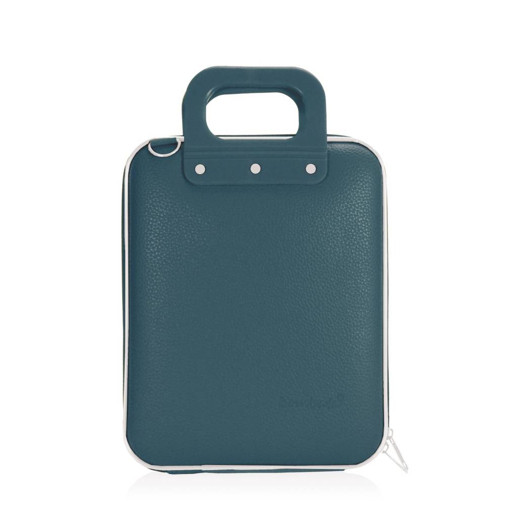 Tablet briefcase 11 inch teal blue