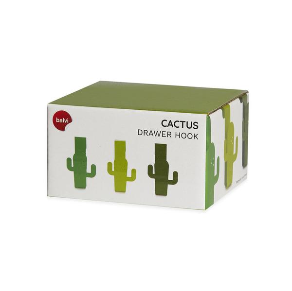 Drawer hook cactus set van 3
