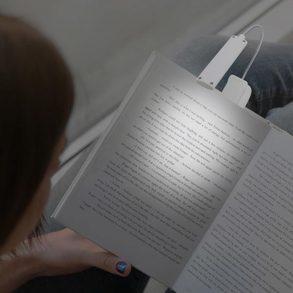 Book light booky white