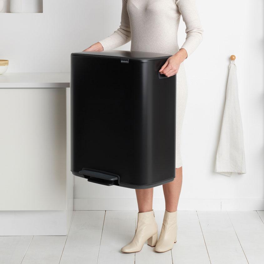 Bo pedaalemmer 60 liter matt black