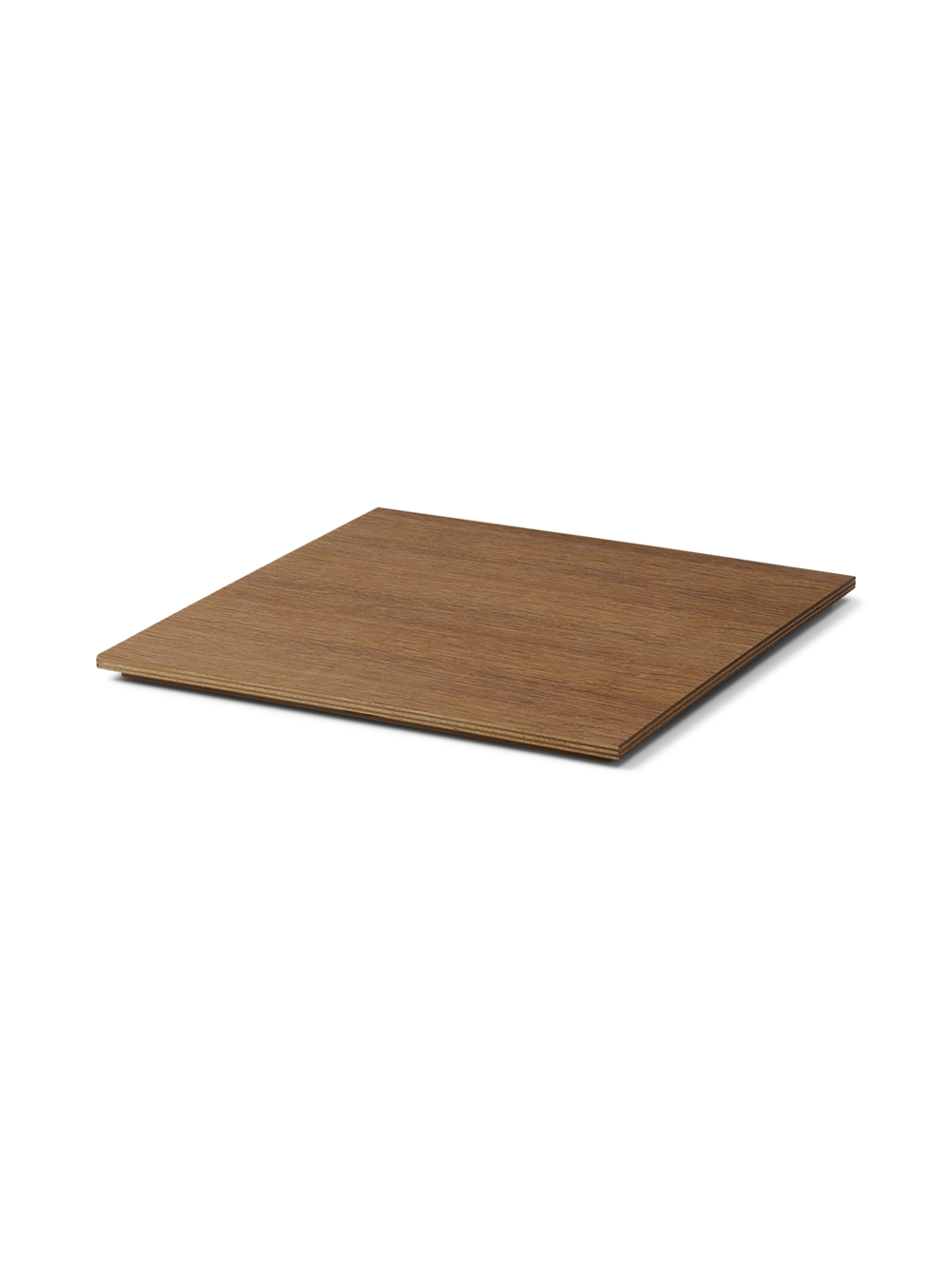 Tray For Plant Box Smoked Oak