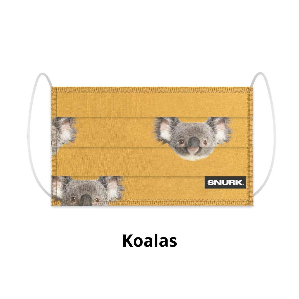 Mondkapje koala